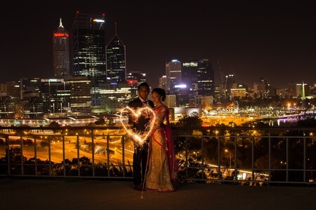 meera and dipesh wedding photography perth